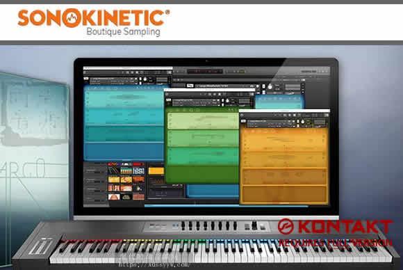 Sonokinetic Largo Kontakt管弦乐