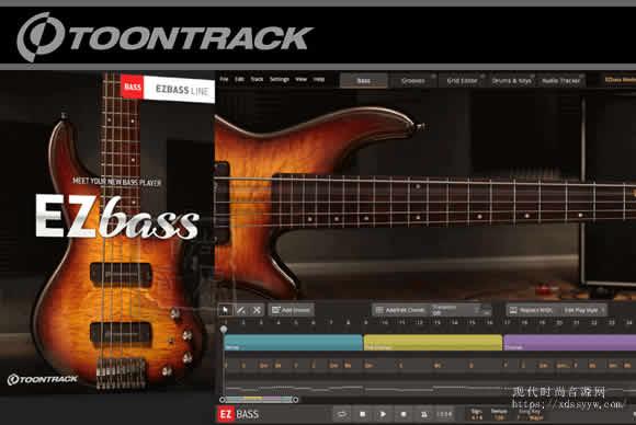 Toontrack EZbass v1.0.0 MacOSX贝斯音源