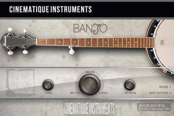 Cinematique Instruments Banjo 2 KONTAKT斑卓琴