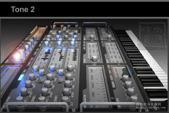 Tone 2 Electr2.6电子合成音源