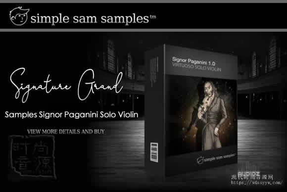 Simple Sam Samples Signor Paganini Solo Violin帕格尼尼小提琴