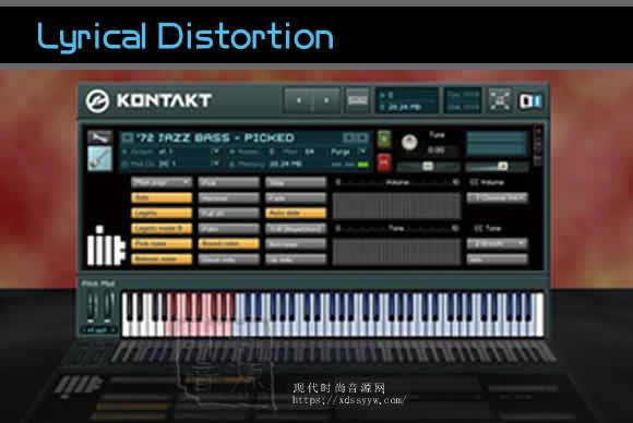 Lyrical Distortion 72 Jazz Bass Direc抒情失真72爵士贝司