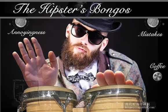 Rattly & Raw The Hipster's Bongos KONTAKT手鼓音色