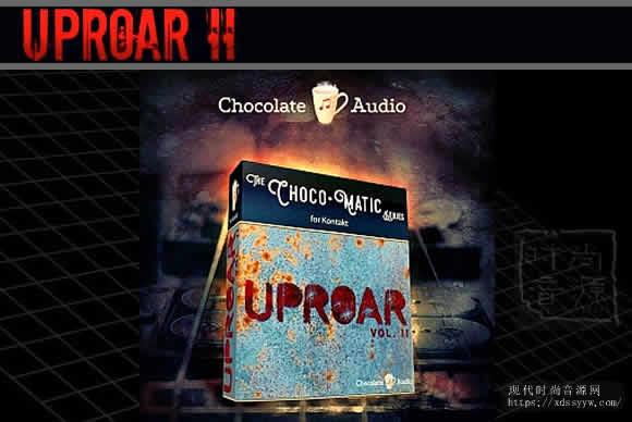 Chocolate Audio Uproar Vol.2 KONTAKT ESP 8弦巴利酮吉他