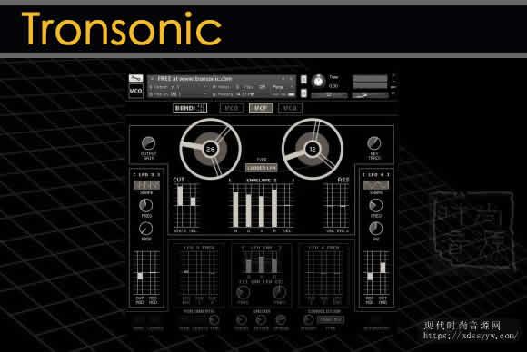Tronsonic VCO KONTAKT-VON.G合成器