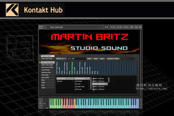 Martin Britz Invictus Guitar v1.1 KONTAKT马丁电吉他