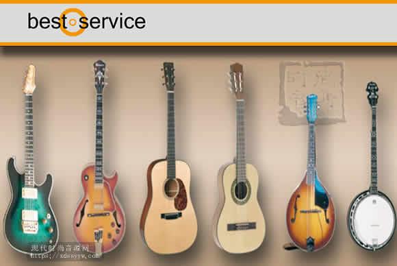 Best Service Chris Hein Guitars KONTAKT 吉他综合音源