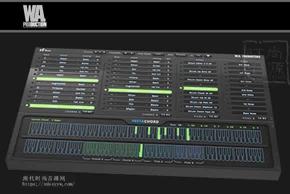 W. A. Production InstaChord v1.3.0 PC MAC和弦插件