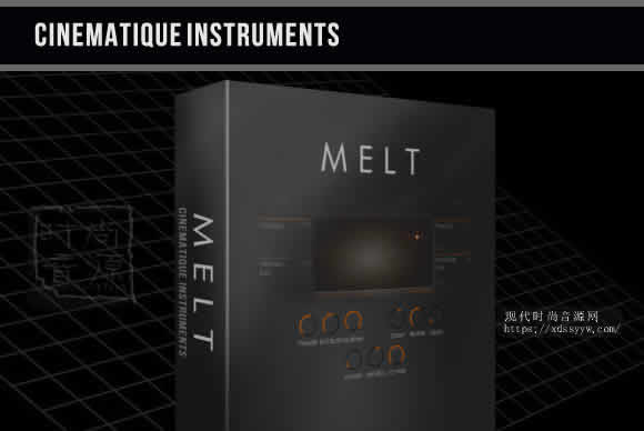 Cinematique-Instruments Melt KONTAKT合成器