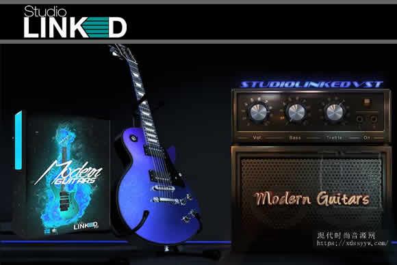 StudioLinkedVST Modern Guitars Kontakt 摩登吉他
