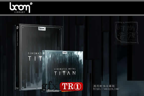 BOOM Cinematic Metal Titan 电影金属音效