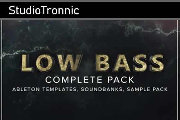 StudioTronnic Low Bass Complete 电子乐超低素材