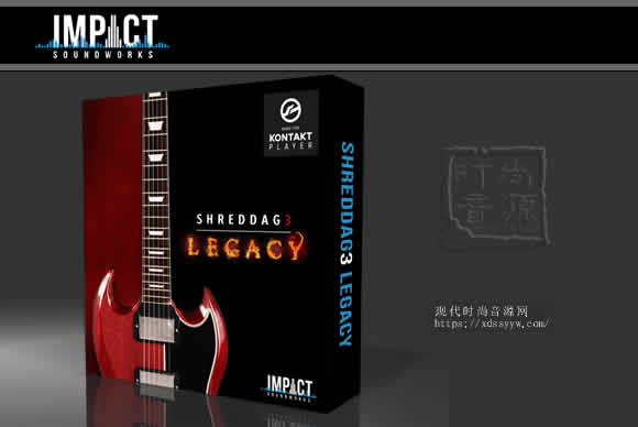 Impact Soundworks Shreddage 3 Legacy KONTAKT经典电吉他