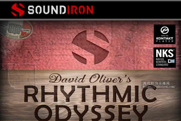 Soundiron David Oliver's Rhythmic Odyssey v1.0 KONTAKT节奏奥德赛