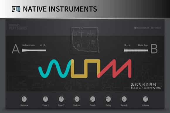 Native Instruments Play Series Selection KONTAKT合成器