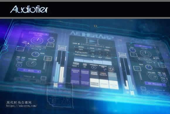 Audiofier AetherArp KONTAKT合成器