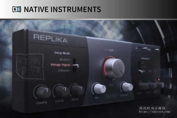 Native.Instruments.Replika.v1.2.2-R2R延迟效果插件