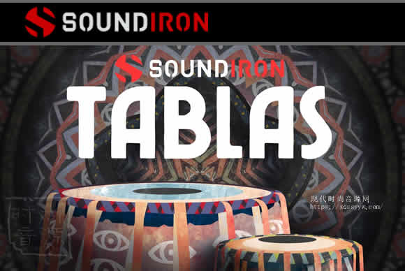 Soundiron Tablas v2.0 KONTAKT深度多采样的打击乐库
