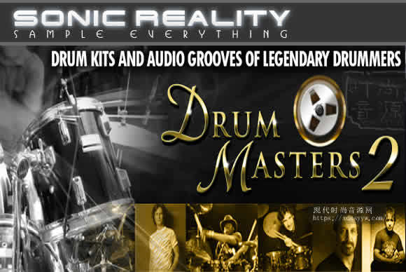 Sonic Reality Drum Masters 2 Platinum For Infinite Player鼓大师 2