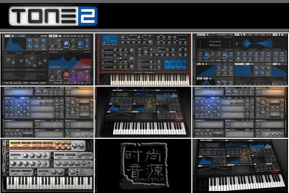 Tone2.Complete.Bundle.v2013 PC/MAC合成器最新完全包