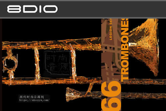 8dio Legion Series: 66 Trombone Ensemble KONTAKT长号合奏