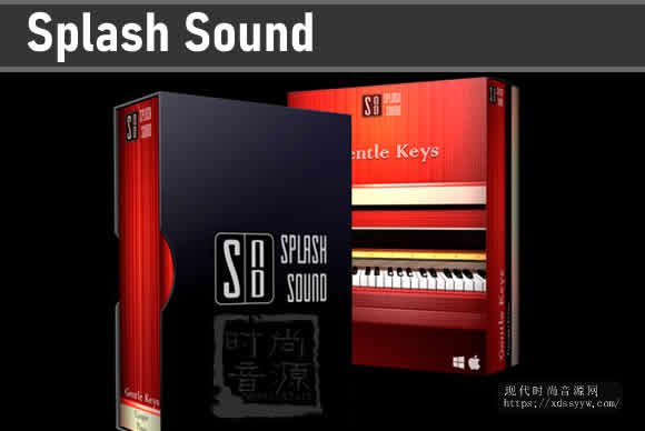 Splash Sound Gentle Keys KONTAKT温柔钢琴