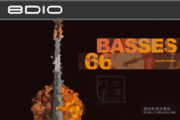 8dio Legion Series: 66 Bass Ensemble KONTAKT低音提琴合奏