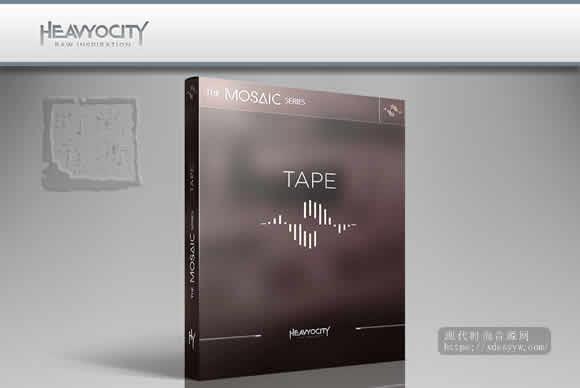 Heavyocity Mosaic Tape Kontakt磁带声音合成器