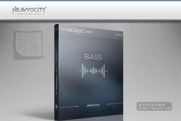 Heavyocity Mosaic Bass Kontakt低音合成器