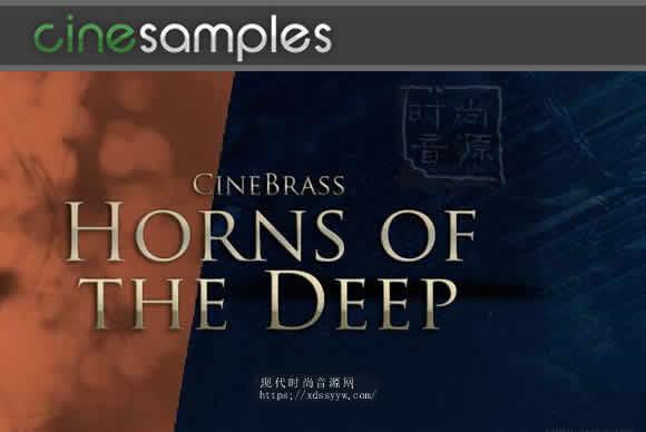Cinesamples CineBrass Horns of the Deep KONTAKT低音铜管 音源
