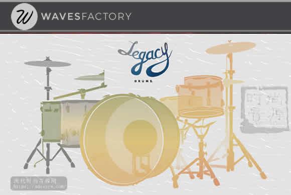 Wavesfactory Legacy Drums KONTAKT经典传统鼓