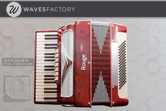 Wavesfactory Le Parisien KONTAKT勒巴黎人手风琴