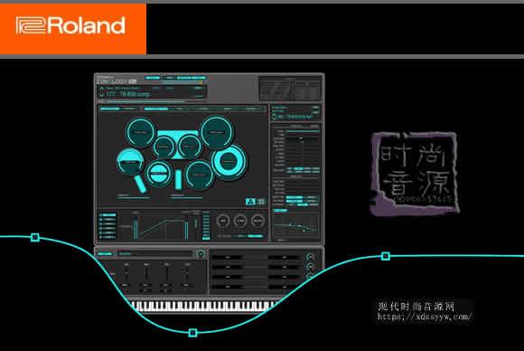 Roland ZENOLOGY Pro v1.52 PC MAC合成器