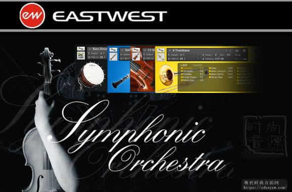 EWQL Symphonic Orchestra Platinum Pro XP KONTAKT白金管弦技法声场整合版
