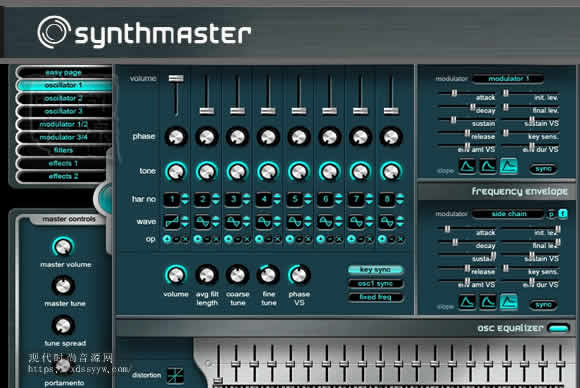 KV331 Synthmaster 2 v2.8.10 Win Mac半模块化合成器