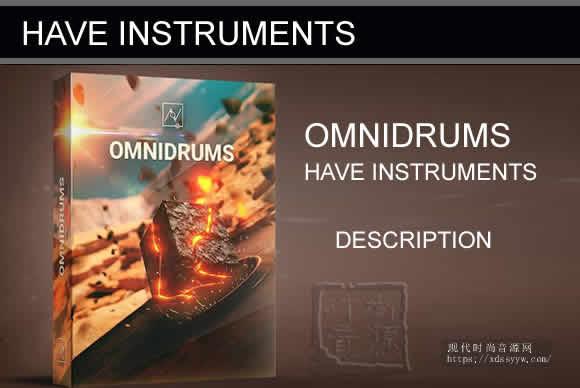 Have Instruments OMNIDRUMS KONTAKT 奥姆尼鼓