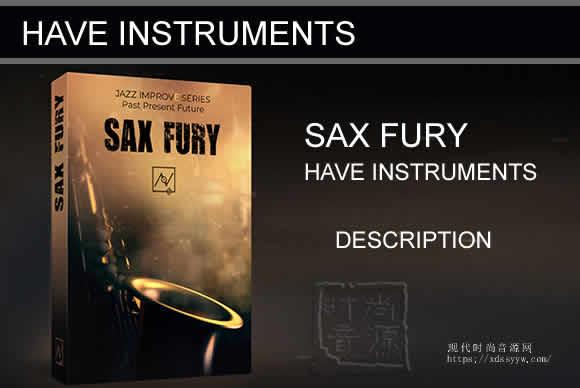 Have Instruments Sax Fury KONTAKT 狂暴萨克斯