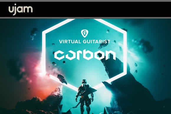 UJAM VIrtual Guitarist CARBON v1.0.1 mac2.1.1(PC/MAC)虚拟吉他手插件