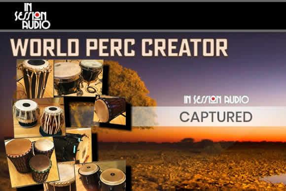 In Session Audio World Percussion Creator KONTAKT 实用节奏型民族世界打击乐音源