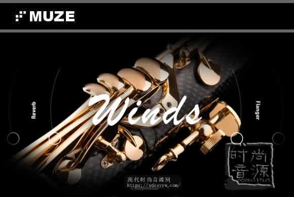 Muze Woodwinds Solo KONTAKT木管独奏