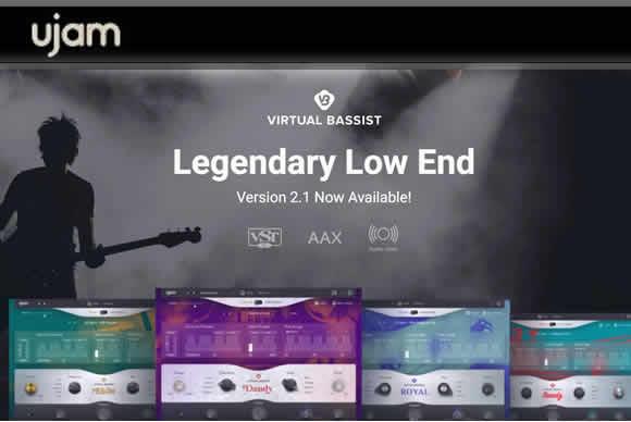 uJAM Virtual Bassist Bundle v1.0.1 PC/v1.0 MAC虚拟贝斯手三件套