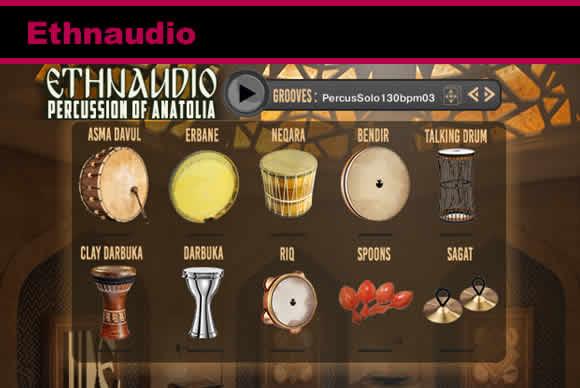 Ethnaudio Percussion Of Anatolia KONTAKT民族打击乐