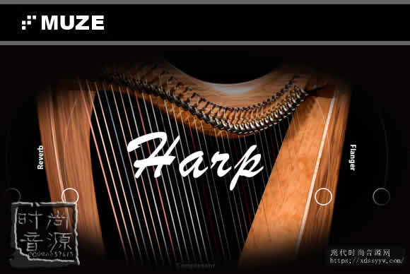 Muze Concert Harp KONTAKT大厅竖琴