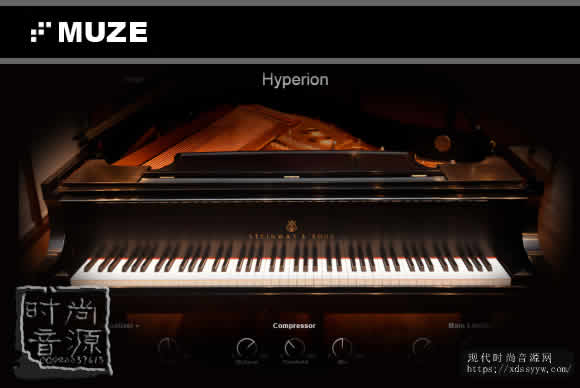 Muze PA Hyperion KONTAKT超音速声学钢琴