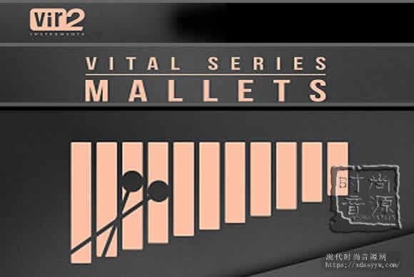 Vir2 Instruments Vital Series Mallets KONTAKT 木槌敲击乐