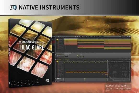 Native Instruments 发布 Lilac Glare for Maschine 扩展音色
