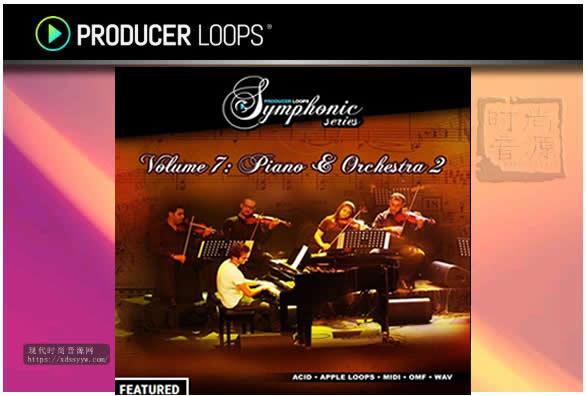 Producer Loops Symphonic Series 7室内交响乐素材
