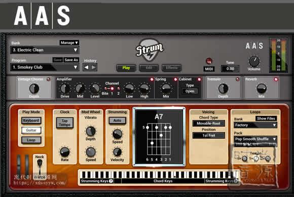 Applied Acoustics Systems Strum GS-2 v2.4.1 PC MAC新届吉他手