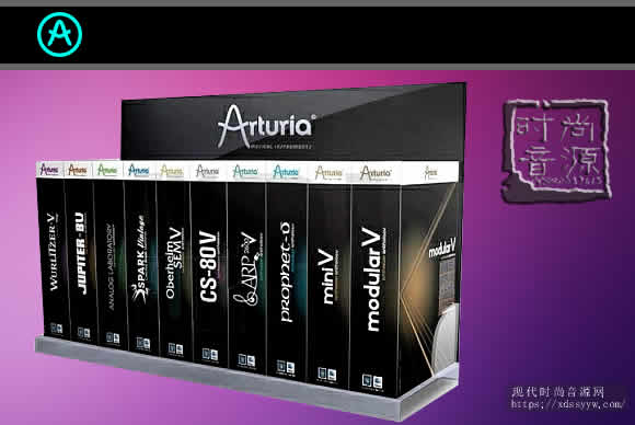 Arturia V Collection + FX Bundle 8 v2021.01-04 PC合成器效果包集