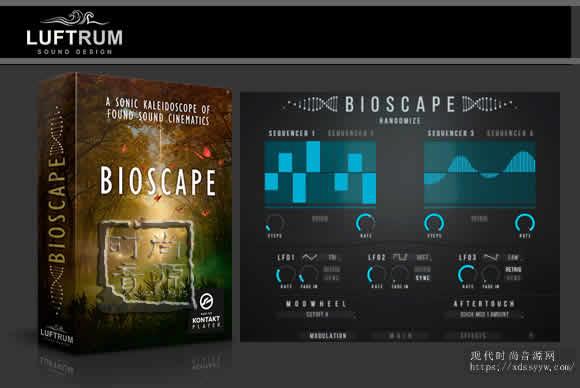 Luftrum Bioscape v1.2 KONTAKT合成器